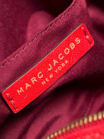 MARC JACOBS Playback Leather Crossbody Red Gold