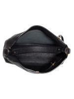 SALVATORE FERRAGAMO Ally Leather Hobo Black