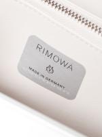 CHRISTIAN DIOR X Rimowa Aluminum Personal Clutch Silver