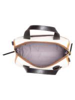 FOSSIL SHB2484994 Fiona Leather Satchel Neutral Multi
