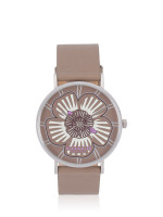 COACH 14503230 Perry Tea Rose Leather Watch Stone