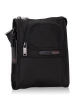 TUMI Men Alpha 3 Pocket Bag Small Black