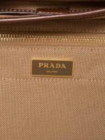 PRADA 1BZ677 Jacquard Logo Backpack Corda Bruciato