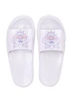 KENZO Tiger Pool Mule Slide Sandal Blanc Purple Sz 38