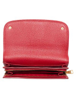 TORY BURCH Britten Duo Leather Envelope Wallet Red Stone