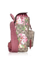 GUCCI GG Supreme Blooms Small Backpack Pink