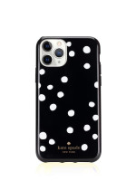 KATE SPADE iPhone 11 Pro Ring & Dot Resin Black