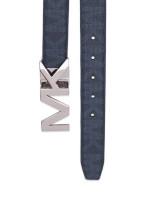 MICHAEL KORS Men 4 In 1 Signature Belt Box Set Baltic Blue
