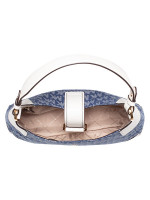 MICHAEL KORS Lillian Signature Medium Shoulder Bag Denim