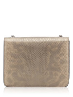 GUCCI Interlocking G Python Embossed Small Shoulder Bag