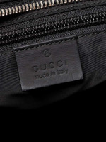 GUCCI Guccissima Zip Messenger Black