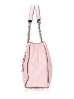 MICHAEL KORS Susannah Quilted Leather Large Tote Blossom