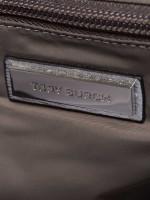 TORY BURCH Ella Metallic Mini Puffer Tote Silver