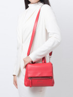 GIVENCHY Mini Pandora Pure Flap Bag Red