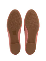 TORY BURCH Benton Leather Flats Tramonto Sz 7.5