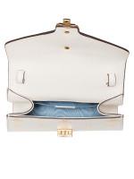 GUCCI Sylvie Bee Star Mini Bag White
