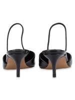 STEVE MADDEN Krisp Patent Leather Heels Black Sz 7.5