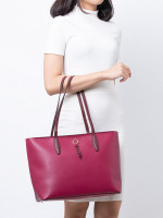 KATE SPADE Adel Large Tote Cranberry