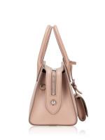 PRADA 1BA269 Kristen Saffiano Monochrome Bag Cipria