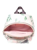 COACH 25869 Camo Rose Mini Charlie Backpack Blush Multi