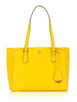 TORY BURCH Robinson Small Tote Lemon Drop
