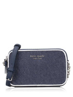 KATE SPADE Cameron Colorblock Double Zip Small Crossbody Denim Multi