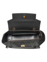 CELINE Suede Mini Belt Bag Dark Green
