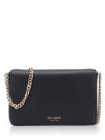 KATE SPADE Sylvia Chain Wallet Black