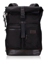 TUMI Men Cypress Roll Top Backpack Espresso