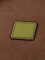 FURLA Stacy Soft Leather Mini Bucket Bag Olive