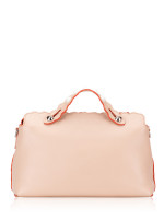 FENDI Studded Scallop Small By The Way Peach