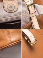 MICHAEL KORS Jet Set Item Large Leather Tote Luggage