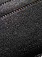 GOYARD Goyardine Victoire Bifold Wallet Black