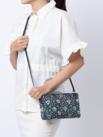 TORY BURCH Kerrington Crossbody Navy Soleil