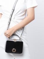 KATE SPADE Vanity Mini Top Handle Black Multi