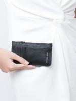 MICHAEL KORS Signature Gifting Long Zip Wallet Black