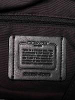 COACH 27579 Outline Signature Lexy Shoulder Bag Black Smoke