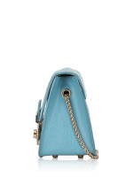 FURLA Metropolis Chain Shoulder Bag Baby Blue
