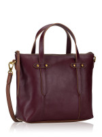 FOSSIL SHB1980503 Felicity Leather Satchel Fig