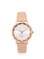 KATE SPADE KSW1472 Metro Scallop Leather Watch Nude