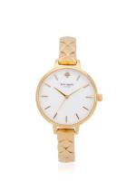 KATE SPADE KSW1471 Metro Stainless Watch Gold
